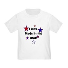I Was Made in the USA! T
