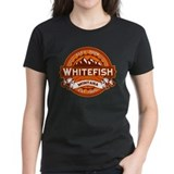 Whitefish Logo Tangerine Tee