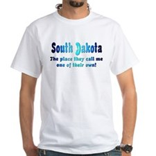 """South Dakota"" Men's T-Shirt"