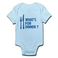 What's for dinner ? Infant Bodysuit
