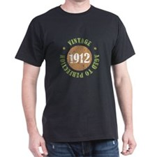 Vintage 1912 Aged To Perfection T-Shirt