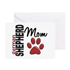 German Shepherd Mom 2 Greeting Cards (Pk of 10)