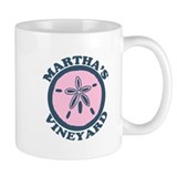 Martha's Vineyard MA - Sand Dollar Design. Mug
