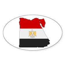 """Pixel Egypt"" Oval Decal"