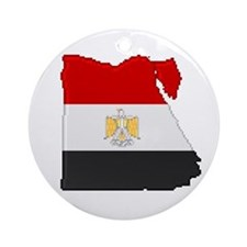"""Pixel Egypt"" Ornament (Round)"