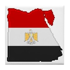 """Pixel Egypt"" Tile Coaster"