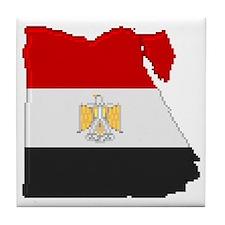 """Pixel Egypt"" Tile Coaster"