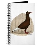Flying Flight Red Pigeon Journal