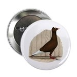 "Flying Flight Red Pigeon 2.25"" Button"