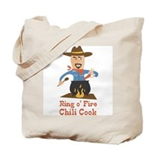 Ring O' Fire Chili Cook Tote Bag