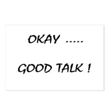 Good Talk Postcards (Package of 8)