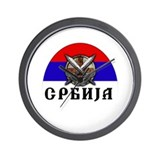 Serbian Wall Clock