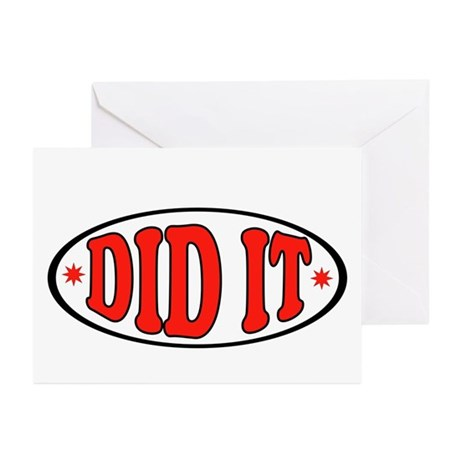 FINALLY Greeting Cards (Pk of 10)