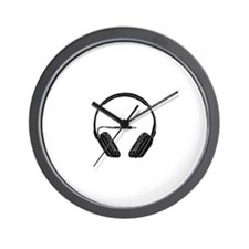 Cute Radio dj Wall Clock