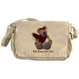 Teddy Chearleader Messenger Bag
