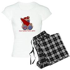 Teddy Cheerleader (red) Pajamas