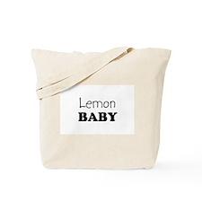 Lemon baby Tote Bag