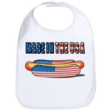 Made in USA Hotdog Bib
