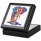 Whimzical Emma Elephant Keepsake Box