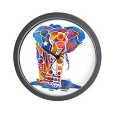 Whimzical Emma Elephant Wall Clock