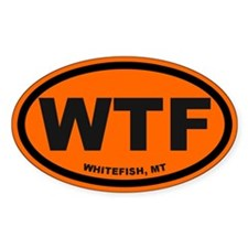 Whitefish Decal