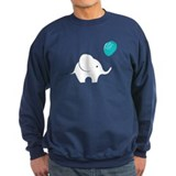 Elephant with balloon Sweatshirt