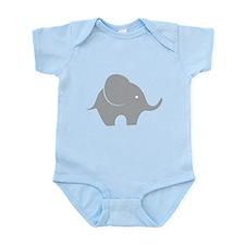 Elephant with balloon Infant Bodysuit