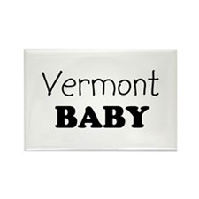 Vermont baby Rectangle Magnet