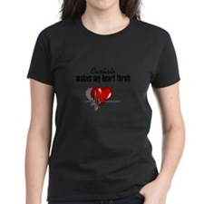 Carlisle makes my heart throb Women's Dark T-Shirt