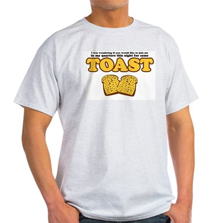 Nacho - Toast Ash Grey T-Shirt