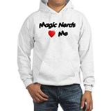 Magic Nerds (heart) Me Hoodie