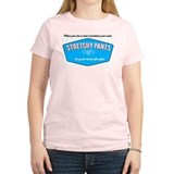 Stretchy Pants Women's Pink T-Shirt