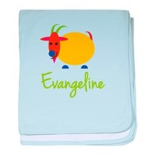 Evangeline The Capricorn Goat baby blanket