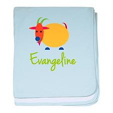 Evangeline The Capricorn Goat baby blanket