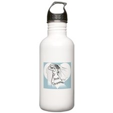 First Christmas Bride/Groom Sports Water Bottle