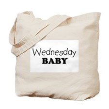 Wednesday baby Tote Bag