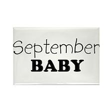 September baby Rectangle Magnet
