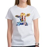 Whimzical Original Cow Art Tee