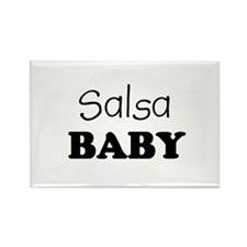 Salsa baby Rectangle Magnet