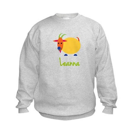 Leanna The Capricorn Goat Kids Sweatshirt
