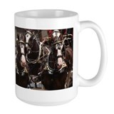 Clydesdale Four-Horse Hitch Mug