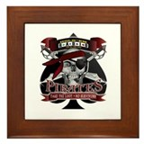 pirate logo Framed Tile