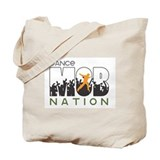 Dance Mob Nation Tote Bag