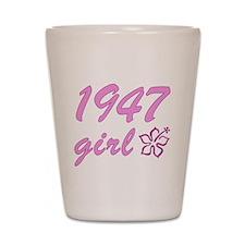 1947 Girl Shot Glass