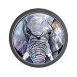 Ellie the Elephant Wall Clock