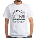 Still Kicking Vietnam Vet Arm Shirt