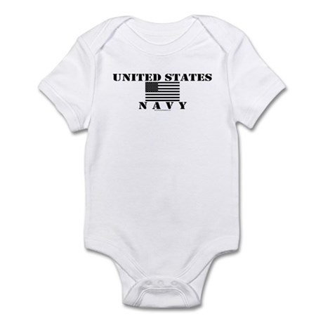 US Navy Infant Creeper