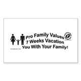 Family Values 188B Decal