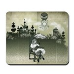 The Wonderland Reader Mousepad