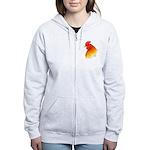 Gamecock Pea Comb Women's Zip Hoodie